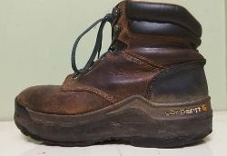 Brown Hiking Boot Men's Shoe Lift, Shoe Elevation/Shoe Modification