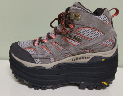 Shoe lift on a Hiking Boot