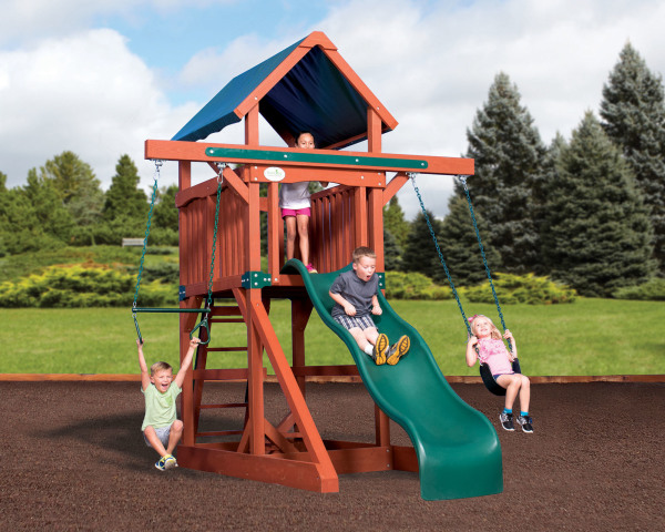 Adventure Treehouse Junior Space Saver - Tarp Roof