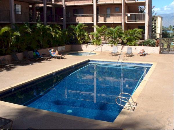 The largest pool in Kihei