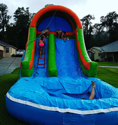 16 foot Waterslide