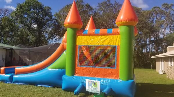 Bouncehouse Slide Combo