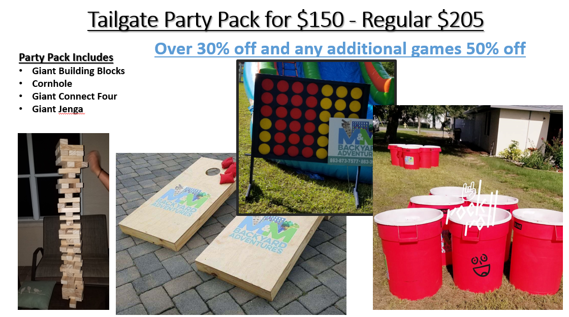 Tailgate Party Pack