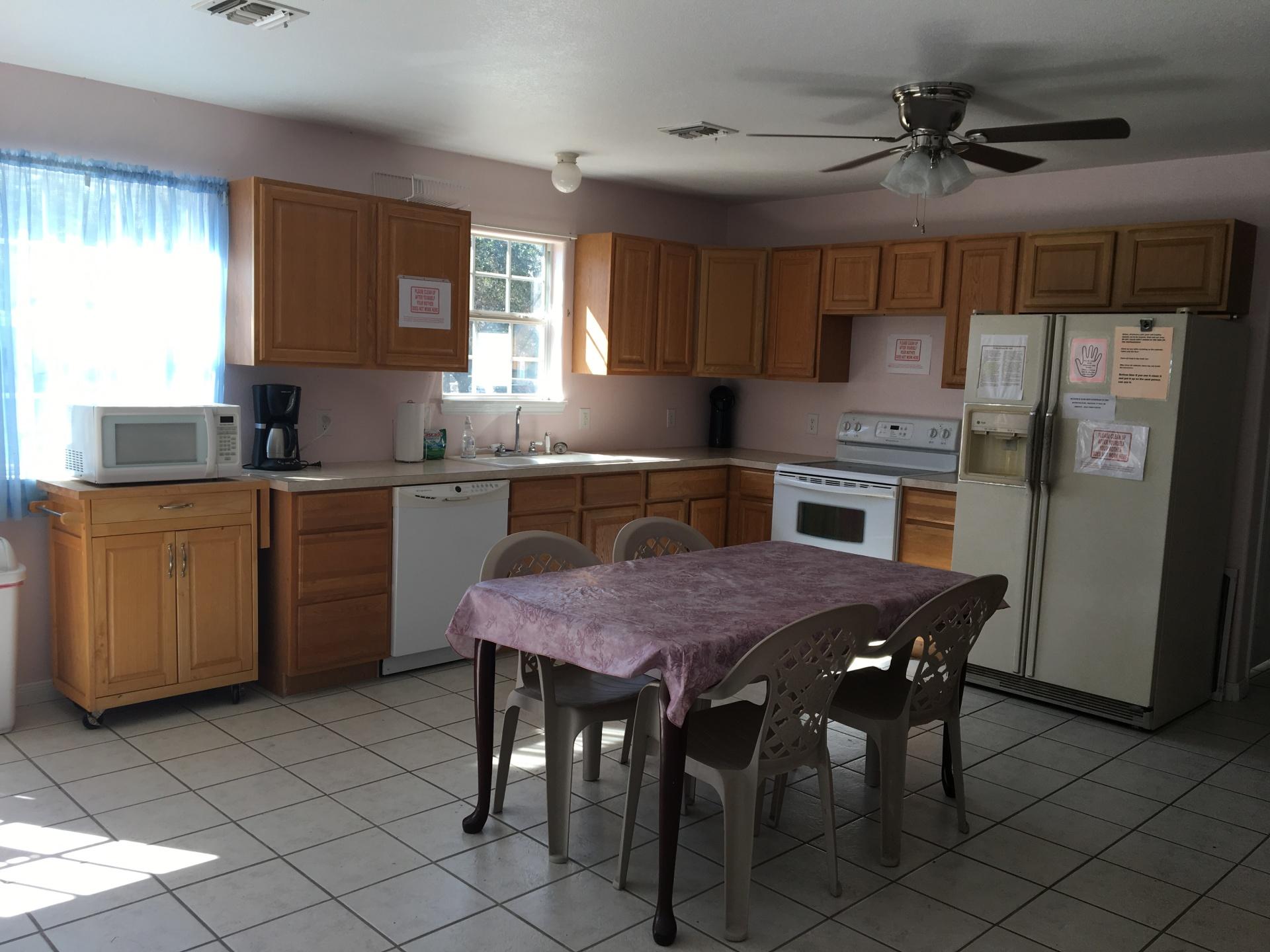 2 Full Kitchens