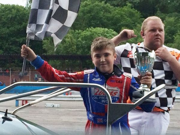 Carter moves up to Junior Rod and shines!