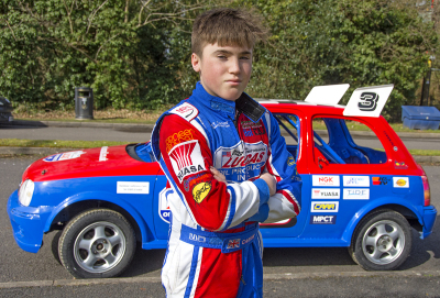 Yuasa continues sponsorship of 14-year-old rising motorsport star, Albert Carter
