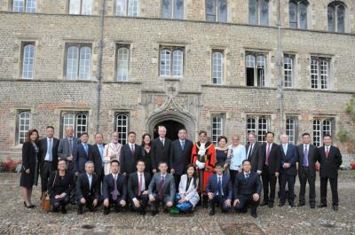 四川省代表团访问剑桥