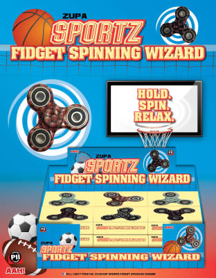 Zupa Sportz Fidget Spinner Wizard