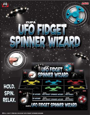 Zupa UFO Fidget Spinner Wizard