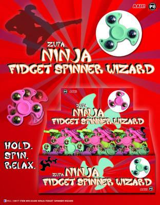 Zupa Ninja Fidget Spinner Wizard