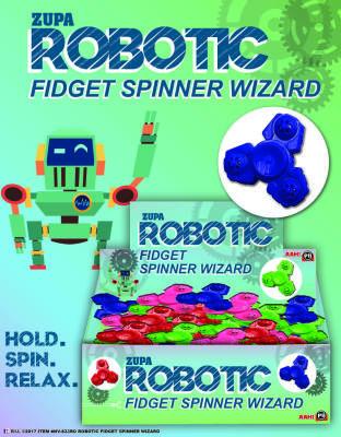 Zupa Robotic Fidget Spinner Wizard