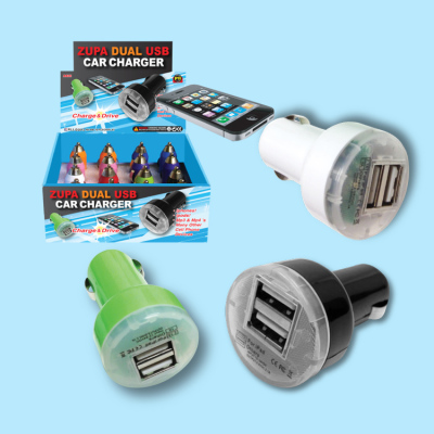 Zupa Dual Port USB Car Charger