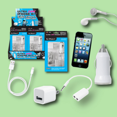 Zupa 5-in-1 USB Kit for iPhone 5/6