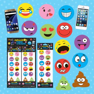 Zupa Emoji Phone Stickers