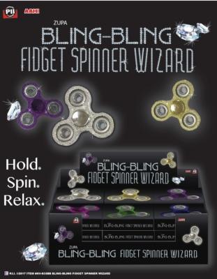 Zupa Bling-Bling Fidget Spinner Wizard