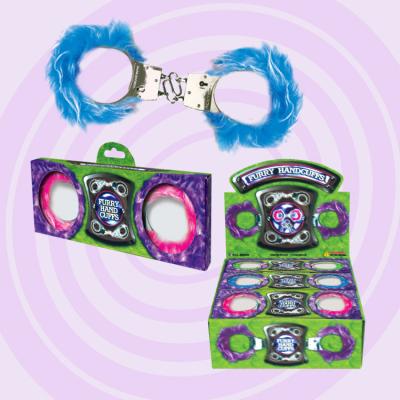 Zupa Furry Metal Handcuffs