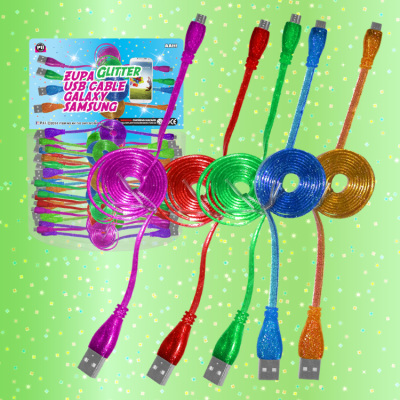 Zupa Glitter USB Cable Galaxy Samsung