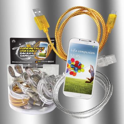 Zupa Metallic USB Cable Galaxy Samsung