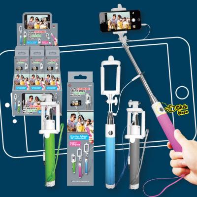 Zupa Foldable Selfie Stick w/ Clicker Button