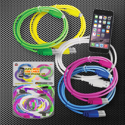 Zupa Mesh USB Cable for iPhone 5/6