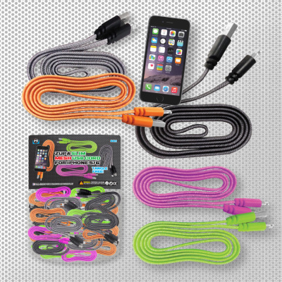 Zupa Slim Mesh USB Cord for iPhone 5/6