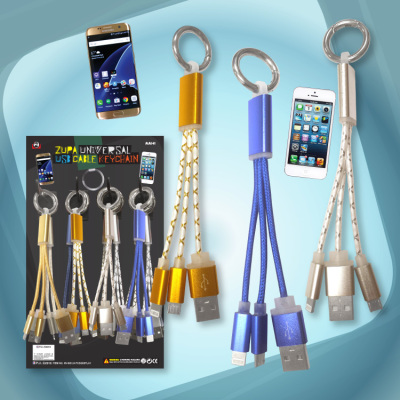 Zupa Universal USB Cable Keychain
