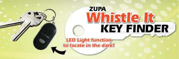 Zupa Whistle It Key Finder