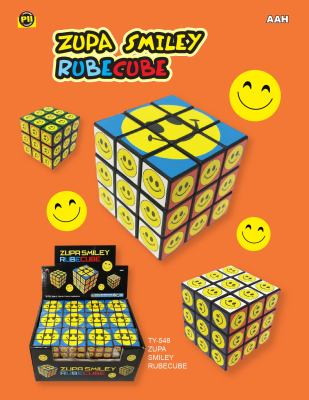 Zupa Emoji Happy Face Rubicz Cube