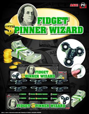Zupa Ben Franklin Fidget Spinner Wizard