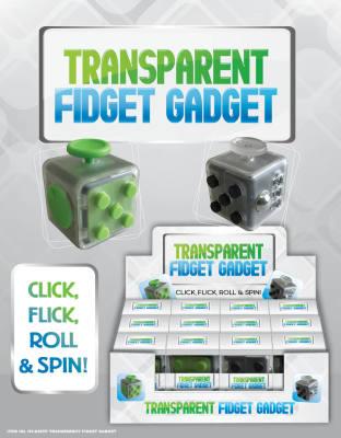 Zupa Transparent Fidget Gadget