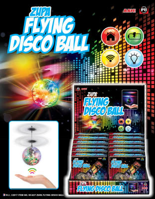 Zupa Flying Disco Ball