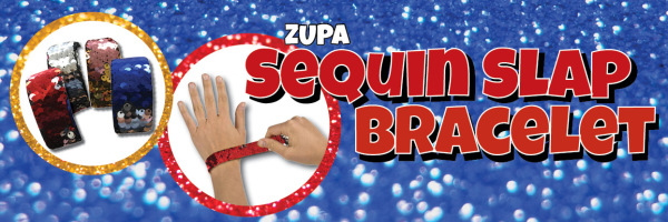 Zupa Sequin Slap Bracelet
