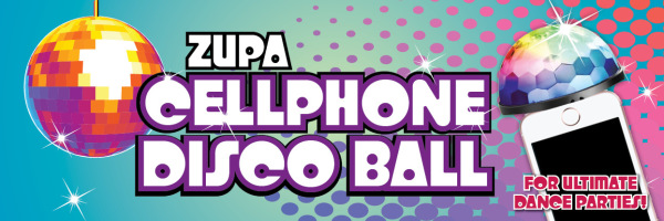 Zupa Cellphone Disco Ball