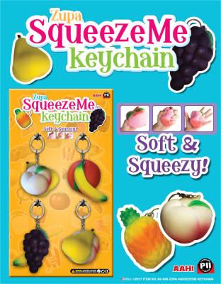 Zupa SqueezeMe Keychain