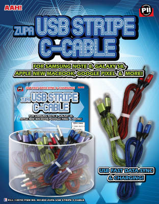 Zupa USB Stripe C-Cable