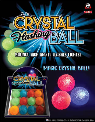 Zupa Crystal Flashing Ball