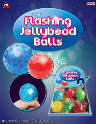 ZUPA FLASHING JELLYBEAD BALLS