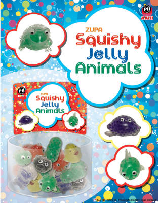Zupa Squishy Jelly Animals