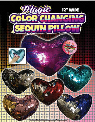 Zupa Magic Color Changing Sequin Pillow