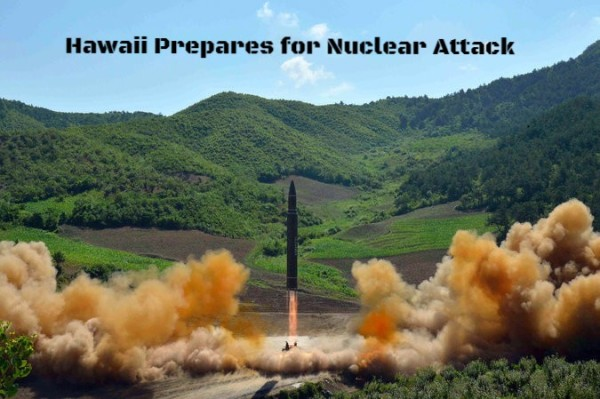 Hawaii Prepares for Nuclear Attack