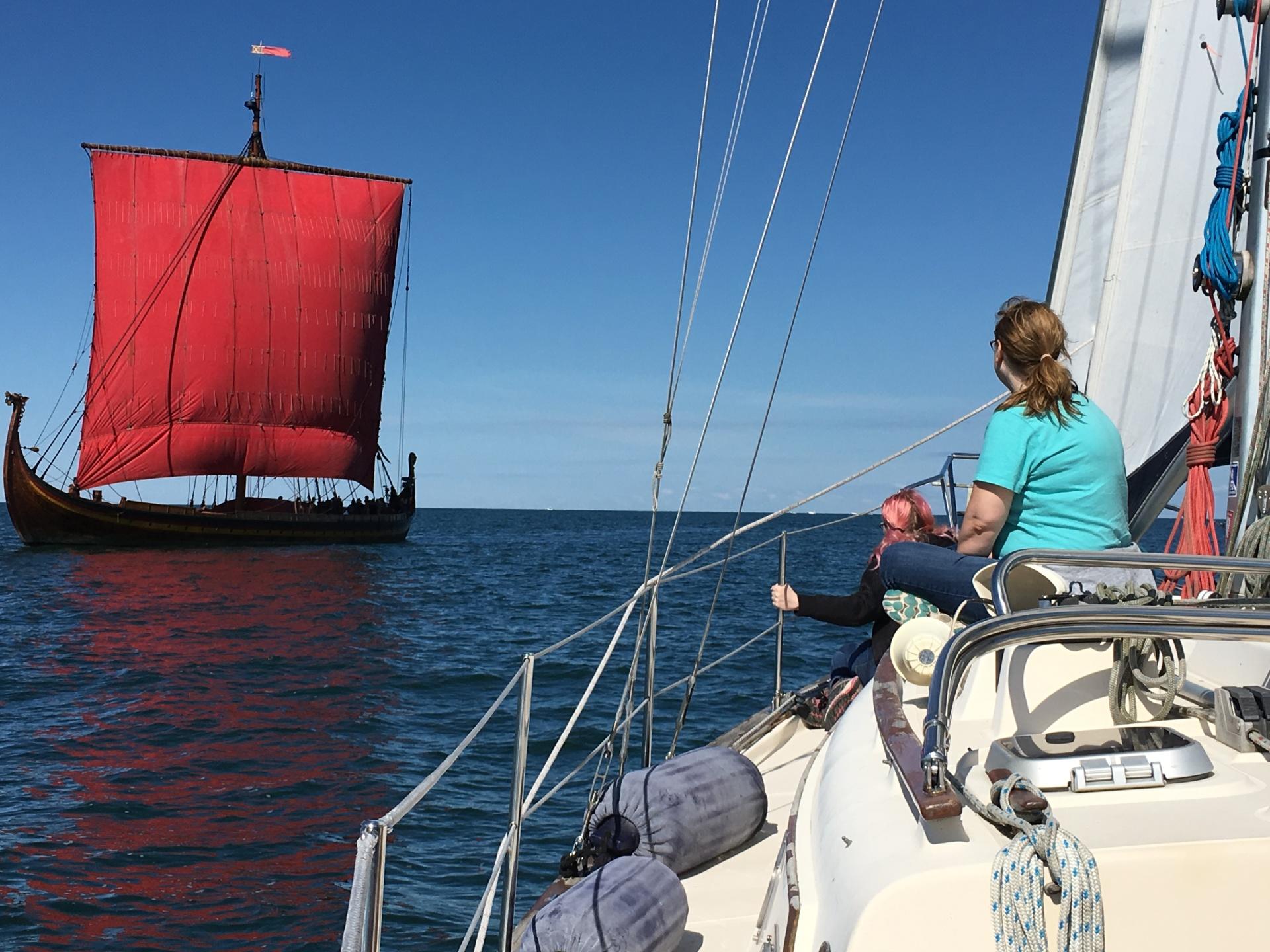 Draken Harald Hårfagre viking ship