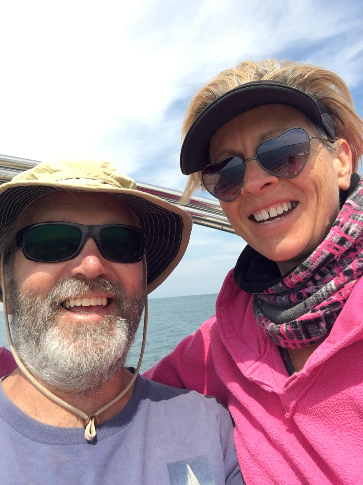 Couple Sailing