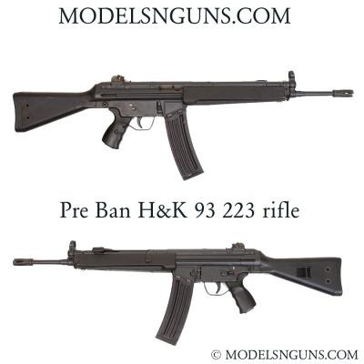 H&k 93 rifle 223 caliber