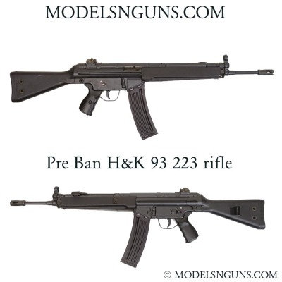 H&k 93 rifle 223 caliber