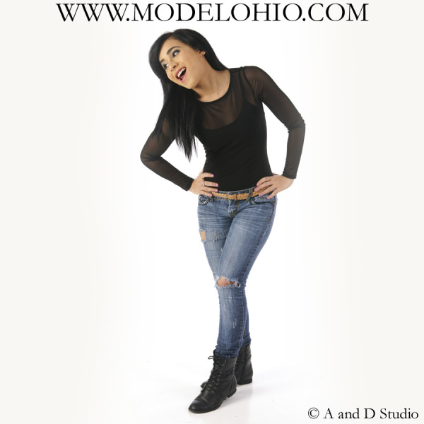 Female teenage model Cleveland Ohio school agency modeling