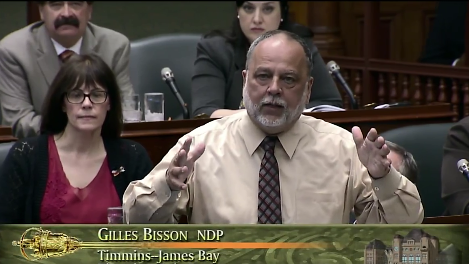 NDP MPP Bisson tables bill to create aboriginal school boards