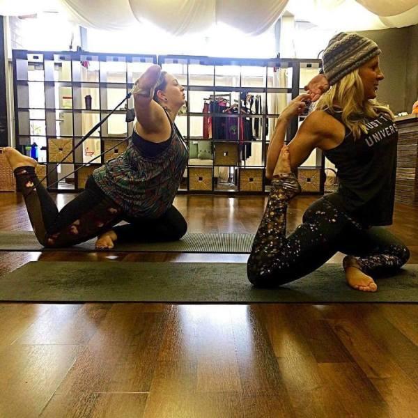 Bug at Yoga/Julie at 7-Studios