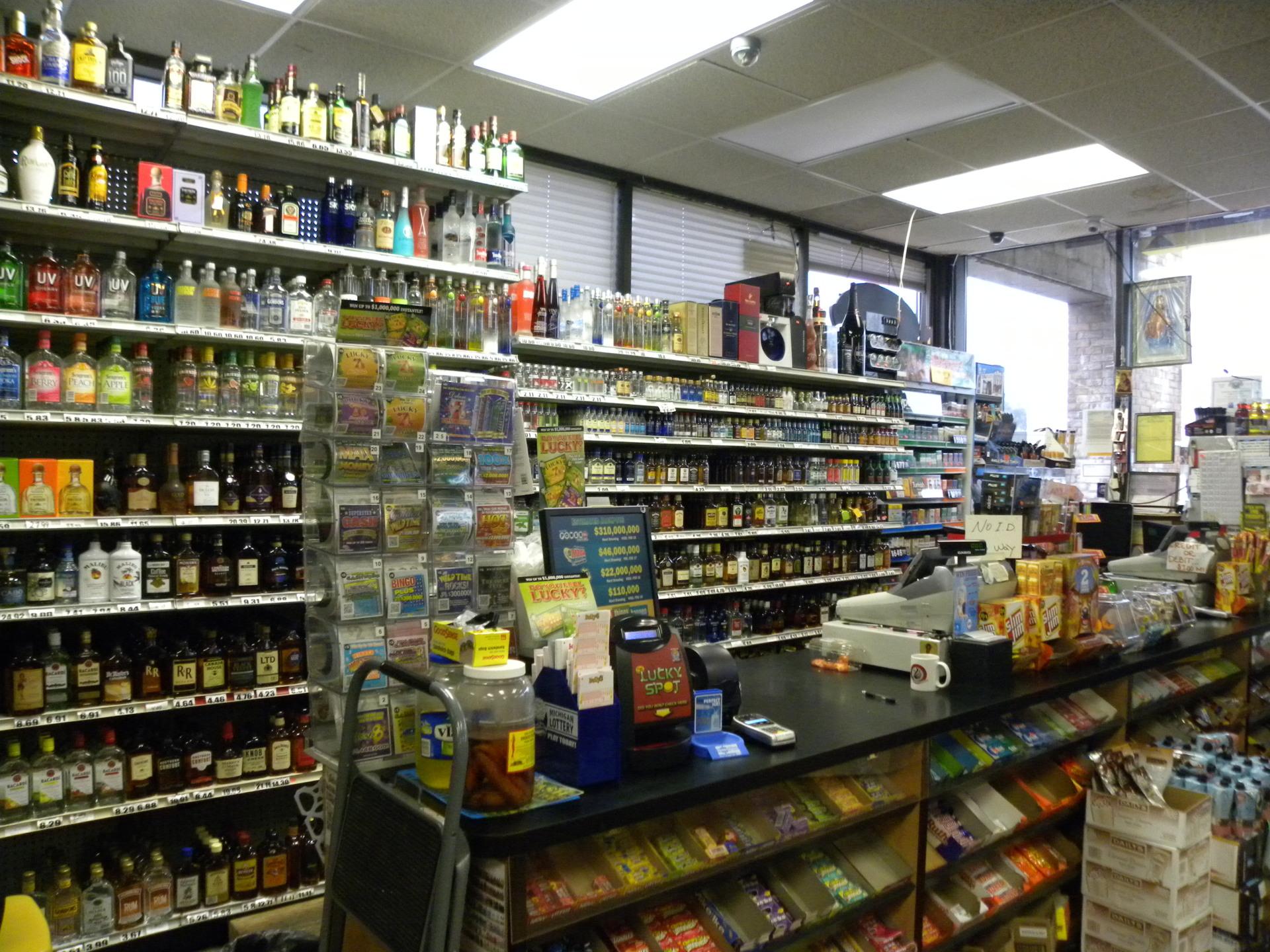 Busy Kent County Liquor Store