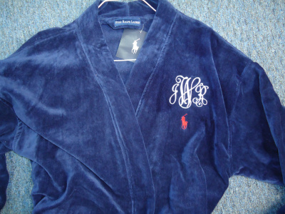 "<img source=""pic.gif"" alt=""Monogramming Robes in Goldsboro NC area.""</img>"
