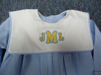 "<img source=""pic.gif"" alt="" Embroidery & Monogramming in Goldsboro NC area.""</img>"